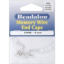 Beadalon Memory Wire End Caps Cone 6.5mm - 277137