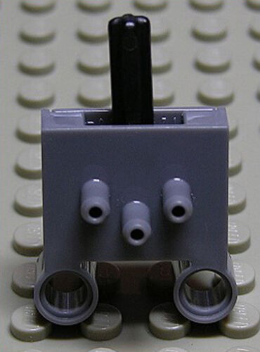 LEGO Technique-Pneumatique Interrupteur gris foncé/Pneumatic Switch 4694bc01 article neuf