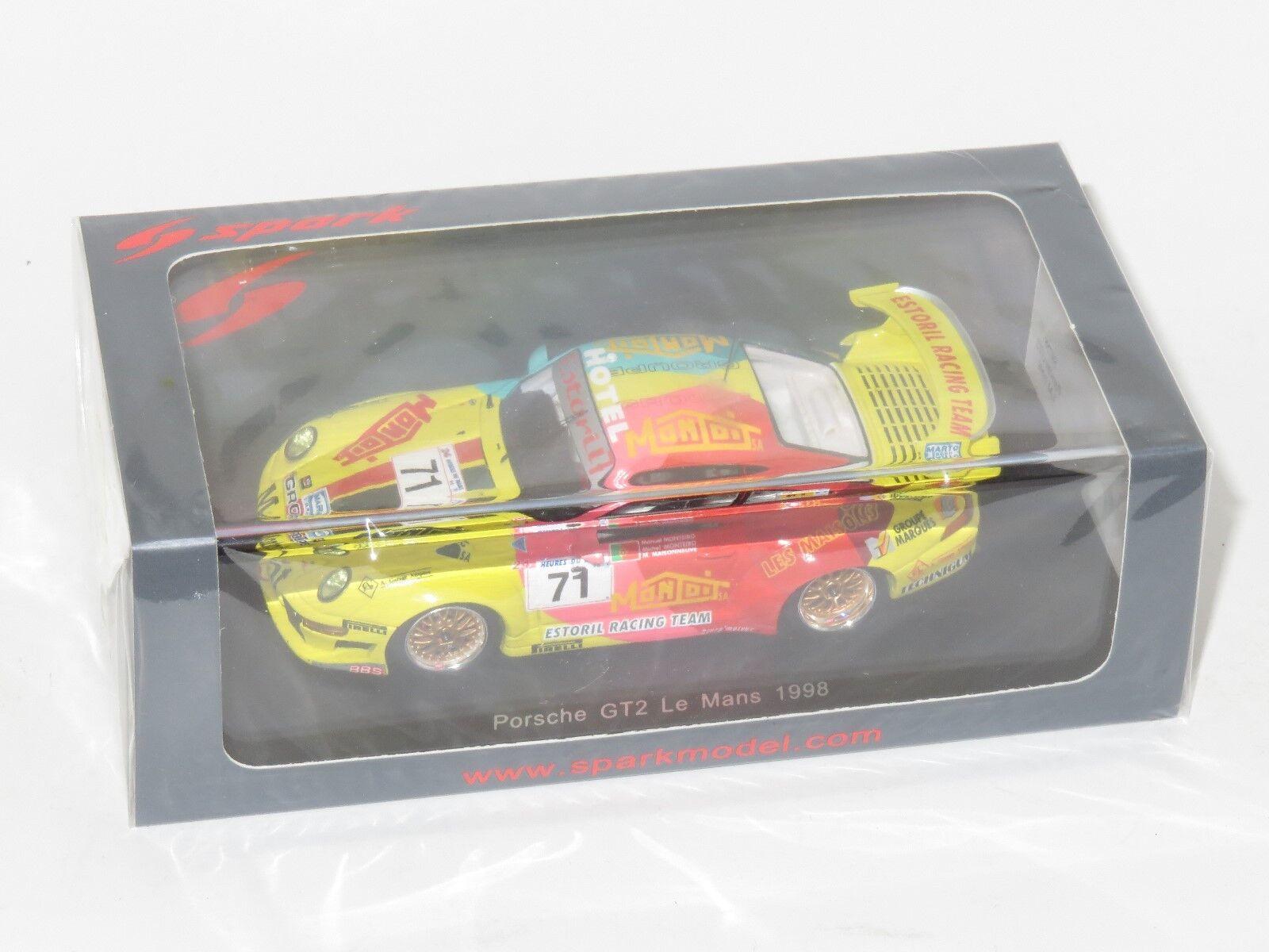 1 43 Porsche 911 GT2 Estoril Racing Team Le Mans 24 horas 1998  71
