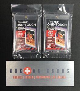 10 Ultra Pro One Touch Magnético 55pt Uv titular de tarjeta Display Case 81909-uv 55