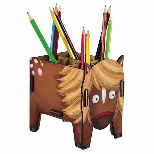 Werkhaus Vierbeiner Stiftebox Pony