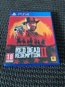 EXCELLENT-CONDITION-RED-DEAD-REDEMPTION-2-BRILLIANT-PS4-GAME