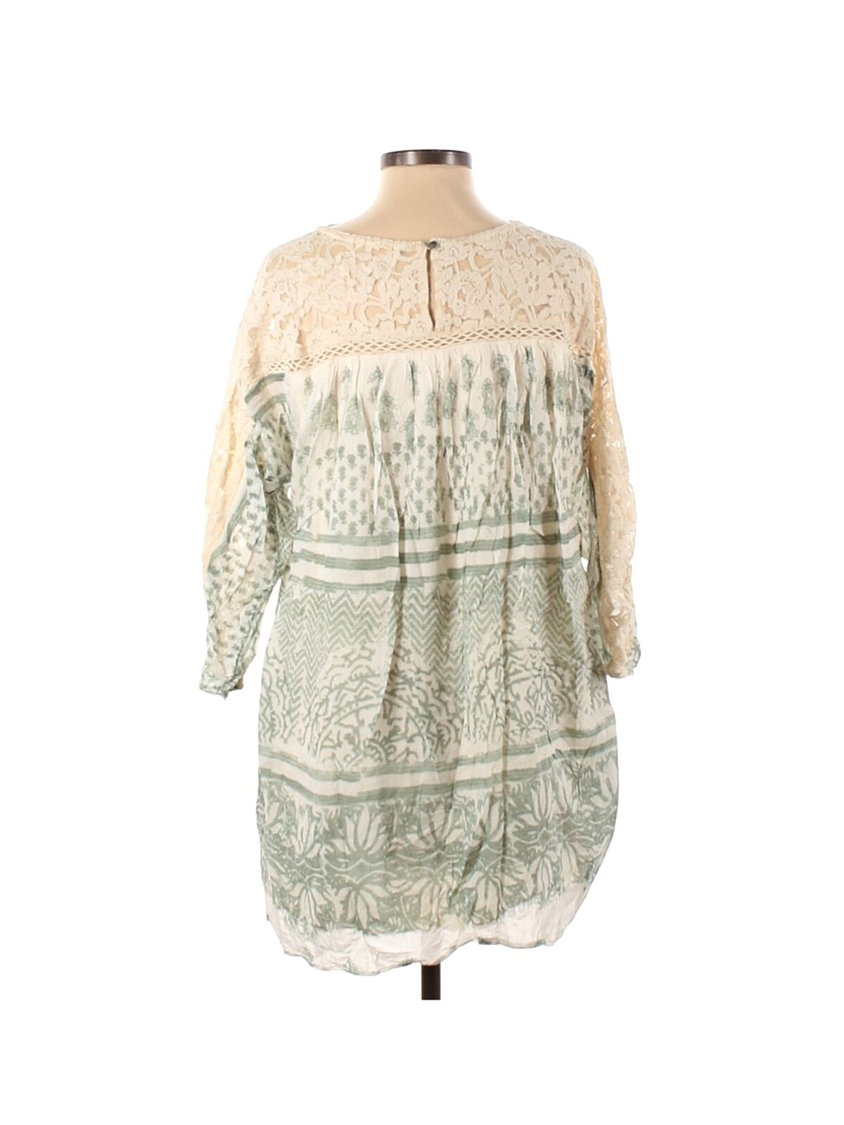 Free People Women Ivory Casual Dress S - image 2
