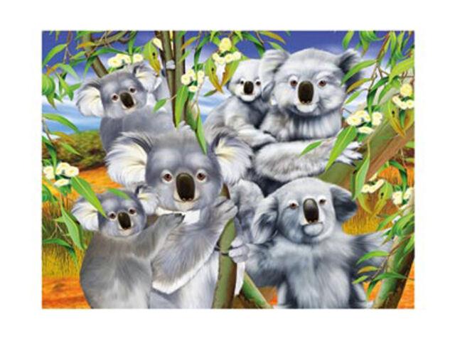 3D LiveLife Poster - Koala Cuddle + WARRANTY✓ AUTHENTIC✓