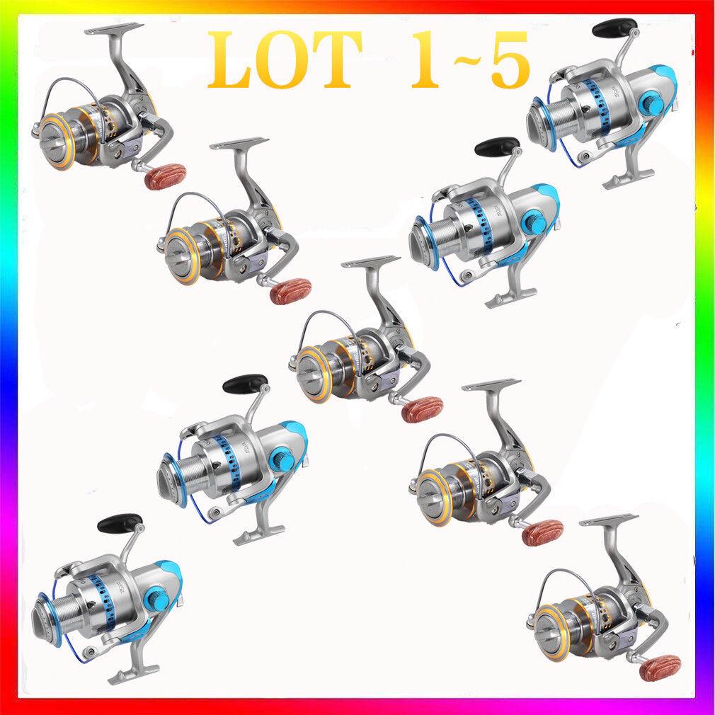 Spinning Reel 10000 6000 Saltwater Fishing Heavy Duty Baitfeeder 9+1 13BB LOT VP