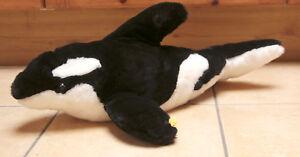 PerséVéRant Peluche 160_orque Steiff 063299_orca Whale