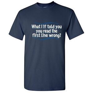 Line-Wrong-Sarcastic-Read-Adult-Cool-Graphic-Gift-Idea-Humor-Funny-T-Shirt