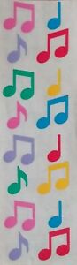 Mrs-Grossman-s-MUSIC-NOTES-COLORFUL-1992-Stickers