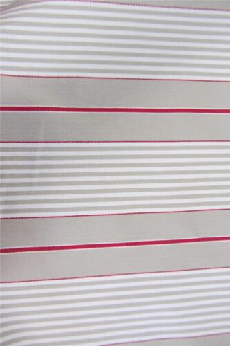 Dijon Herringbone Woven Herringbone Striped Cotton 140cm Wide CurtainFabric Red