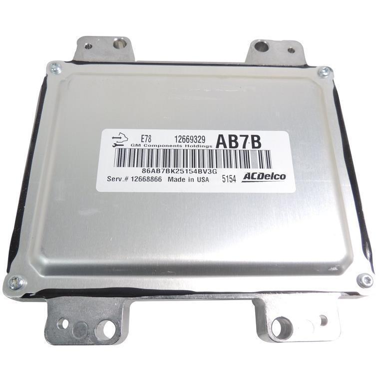 12669331 12668866 e78 engine control module ecm 2012 15 silverado Aircraft Wire Harness at Wire Harness 12668866
