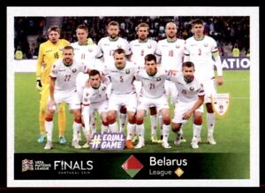 Panini Road To Euro 2020 Team Photo Belarus Uefa Nations League No 474 Ebay