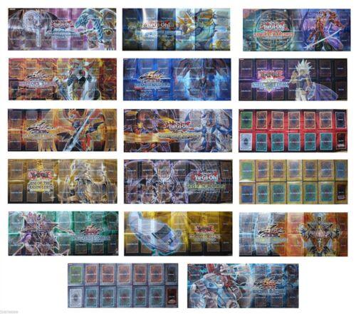 Yu-Gi-Oh Yugioh TCG 3X Random Paper Playmat from Starter or Structure Deck Yugi