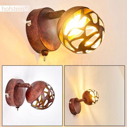 LED Deckenleuchte Covane rostfarben Wohn Schlaf Ess Zimmer Dielen Flur Lampe A++