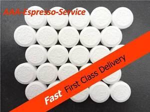 25x nettoyage professionnel tablettes machine à café saeco aeg melitta neff krups  </span>