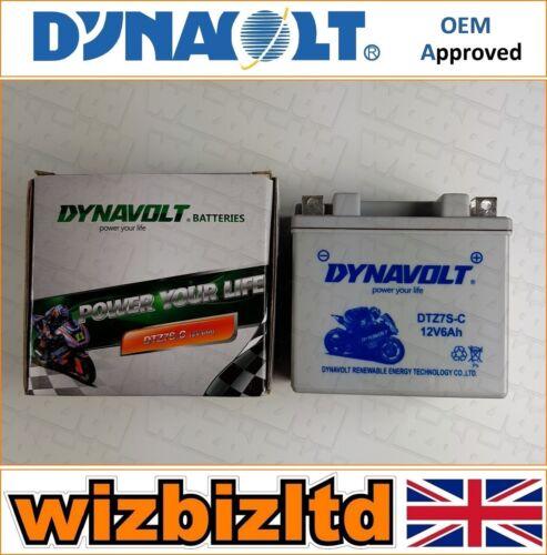 Dynavolt Sealed Motorbike Battery Yamaha WR450F 2003-16 MGS7ZS