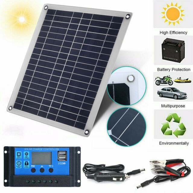 24V SOLAR BRIEFCASE BATTERY SAVER TRICKLE CHARGER 4 WATT suit lorry horsebox HGV