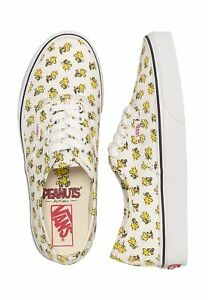 Shoes Woodstock Charlie Peanuts Snoopy Vans Bone Authentic Brown 7xZ6Hwzq