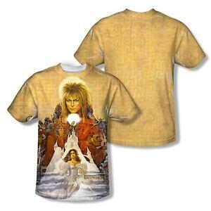 La a di sublimatica copertina La Art David Bowie 3xl Sm labirinto maglietta Jim del Henson OxOPdtr