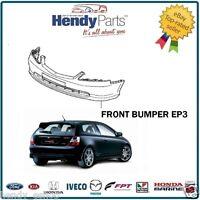 New! GENUINE Honda Civic EP3 PRE- FACELIFT Front Bumper NH623M SATIN SILVER MET