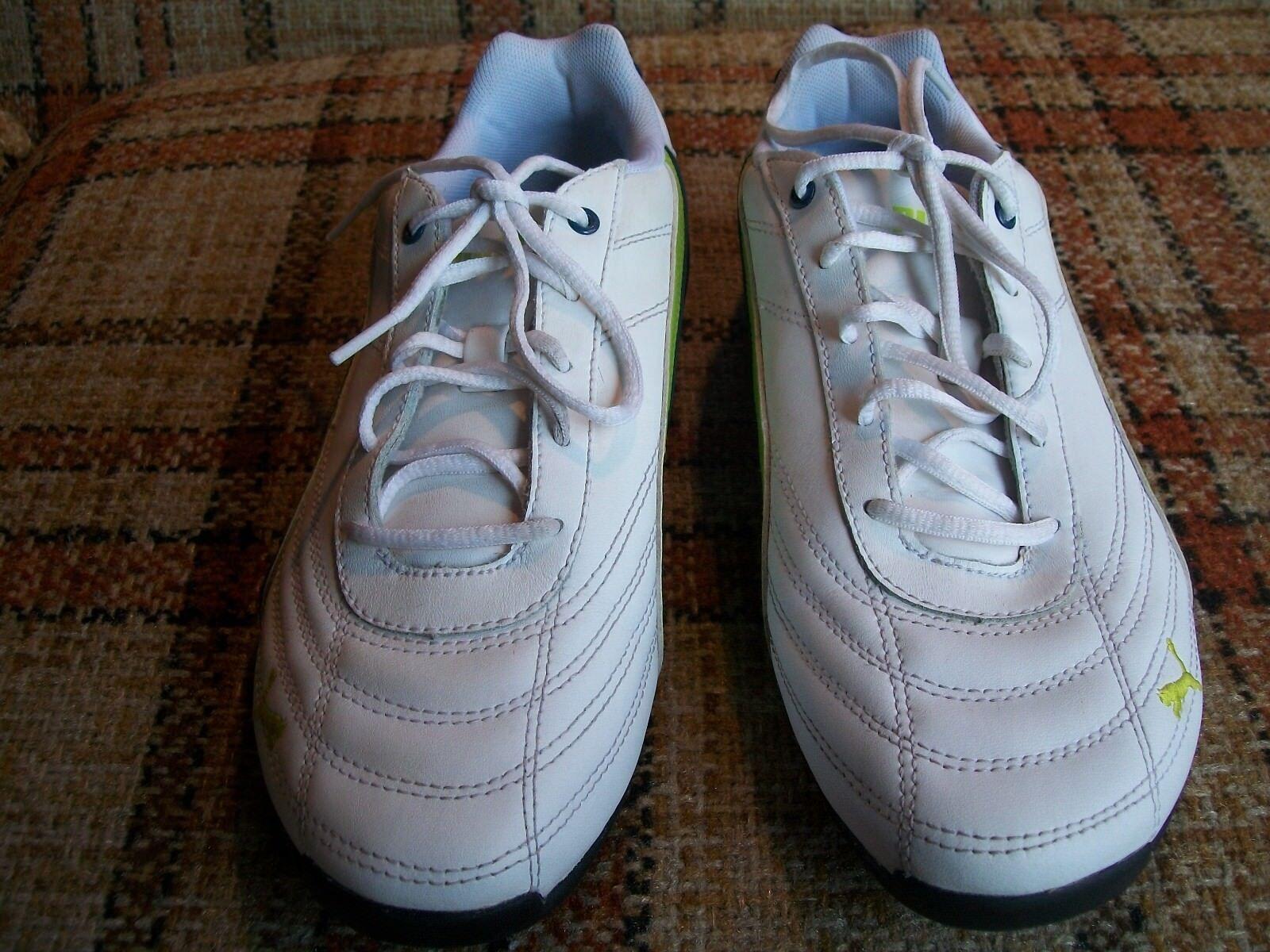 puma   taille 6,5 ()    blanc  vert les chaussures d'athlétisme 302824 40 4fb011
