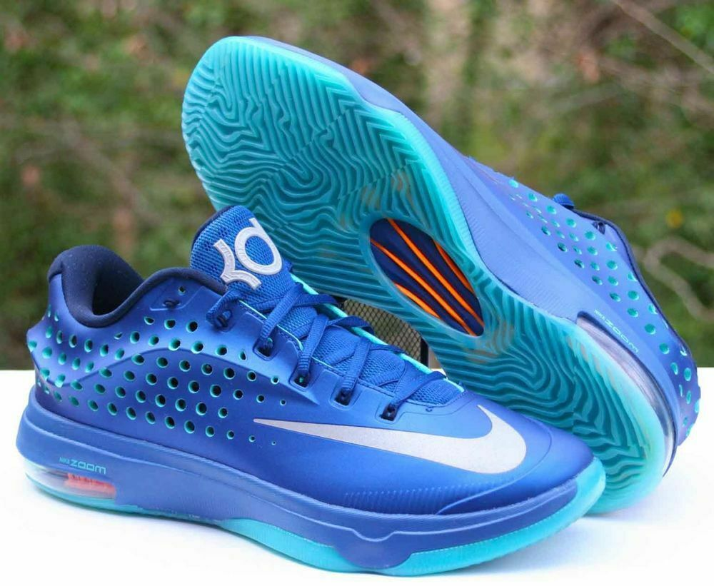 NIKE ZOOM KD VII 7 ELITE ELEVATE PACK Basketball shoes Men's 10 blueee 724349-404