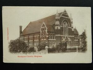 Lincolnshire-SKEGNESS-Wesleyan-Church-Old-Postcard-by-Chester-Vaughan