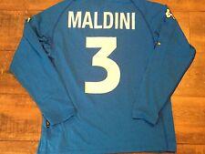 2000 2001 Italy Maldini Home L/s Football Shirt Adults XXL 2XL Maglia