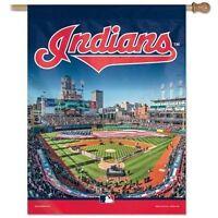 Cleveland Indians Progressive Field 27x37 Banner Flag Brand Wincraft