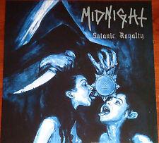 Midnight - Satanic Royalty LP - Silver Vinyl (2012) Thrash Black Metal