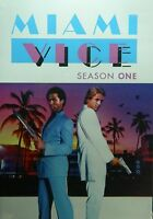 Miami Vice The Complete Season One 18+ Hours 22 Episodes 4-disc Dvd Set Sealed