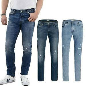 Jack-Et-Jones-Homme-Super-Stretch-Skinny-Slim-Jeans-Vieilli-Pantalon-28-54