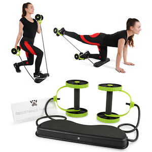 Details about 40 in 1 Portable Resistance Band Workout Fitness Exercise  Machine Yoga Abs Core
