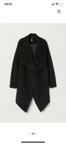 16 Black m Størrelse Coat Hennes Fur H Bnwt Udsolgt Ladies Rw0xHwvq