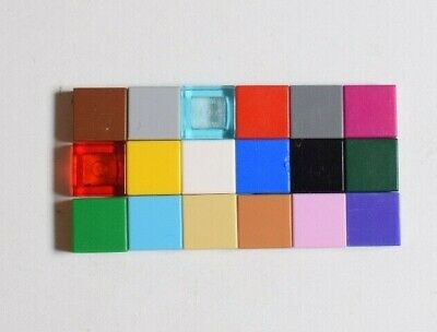 Lego 3070 Flat Tile Plate 1x1 Select Colour Pack of 25