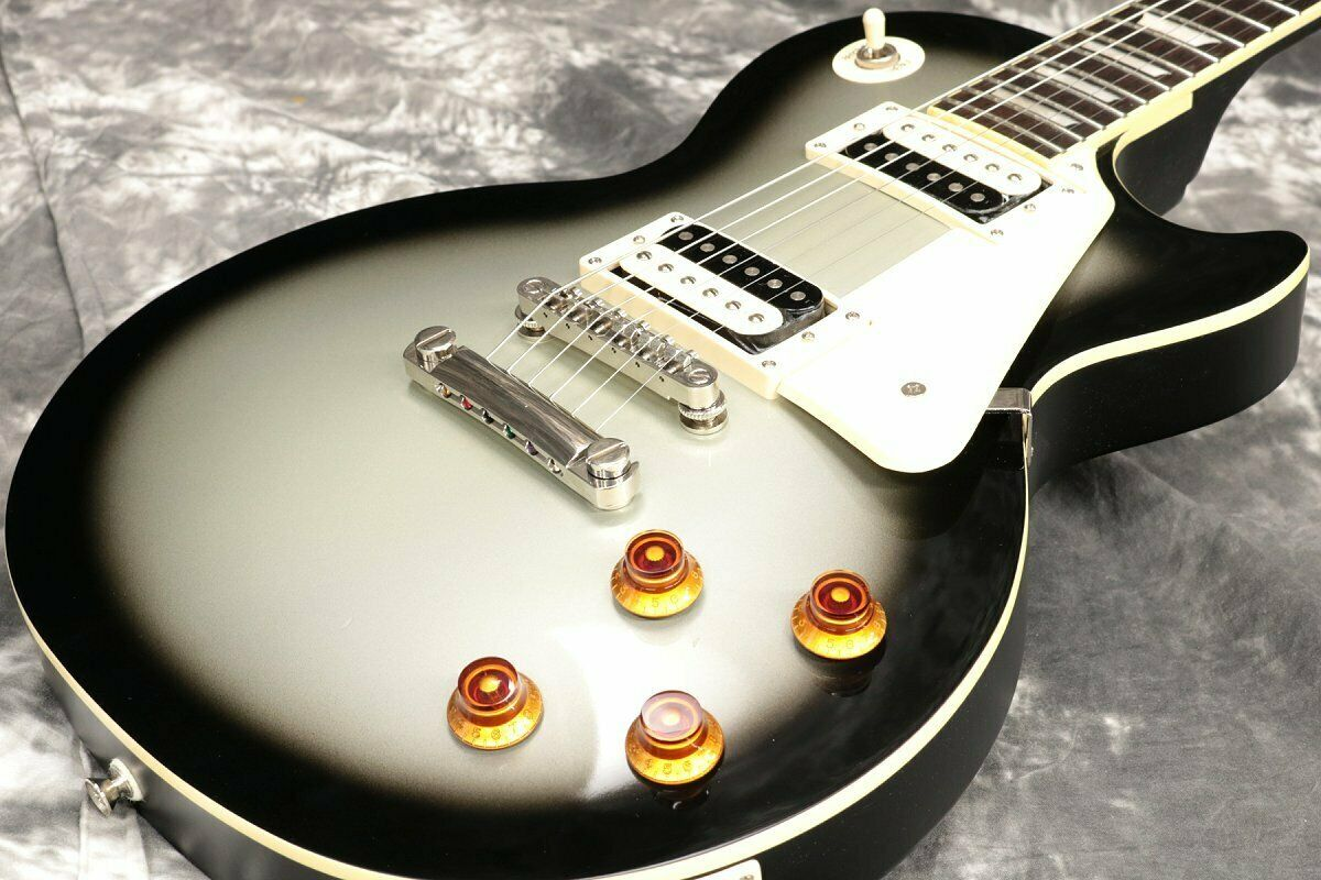 Epiphone Les Paul Traditional PRO Silber Burst JAPAN beautiful rare EMS F S