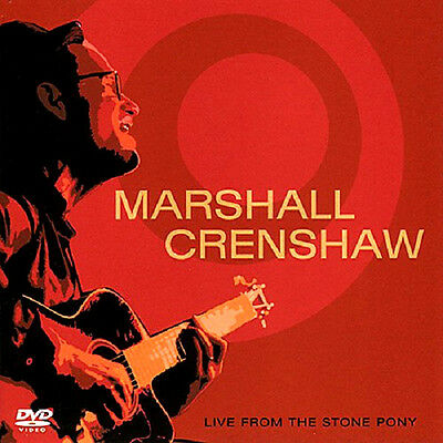 Marshall Crenshaw Live From The Stone Pony February 2001 DVD+CD EP NEW SEALED