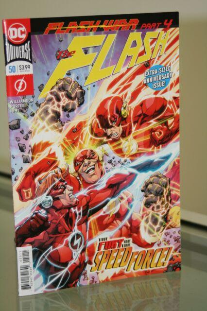 DC COMICS THE FLASH #50 FIRST PRINT 2018