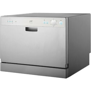 Countertop Dishwasher w/ 6 Preset Cycles & Delay, Portable ...