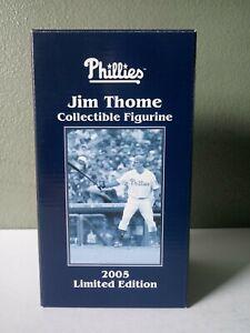 JIM THOME PHILADELPHIA PHILLIES 2005 LTD ED SGA FIGURINE IN BOX