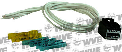 HVAC Blower Motor Resistor Connector WVE BY NTK 1P1700