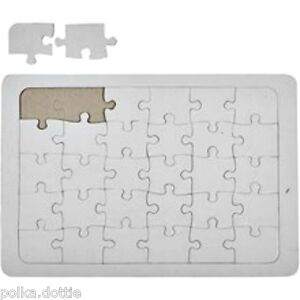 a4 blank jigsaw create your own jigsaw puzzle diy craft project