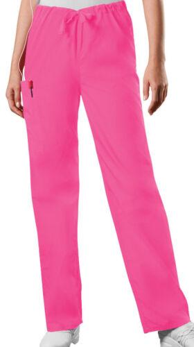 Scrubs Cherokee Workwear Men/'s Drawstring Pant 4100 SHPW Shocking Pink