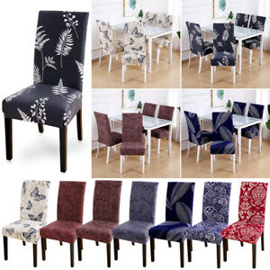 Sensational Details About Retro Dining Room Chair Cover Removable Washable Stretch Seat Cover Home Decor Short Links Chair Design For Home Short Linksinfo