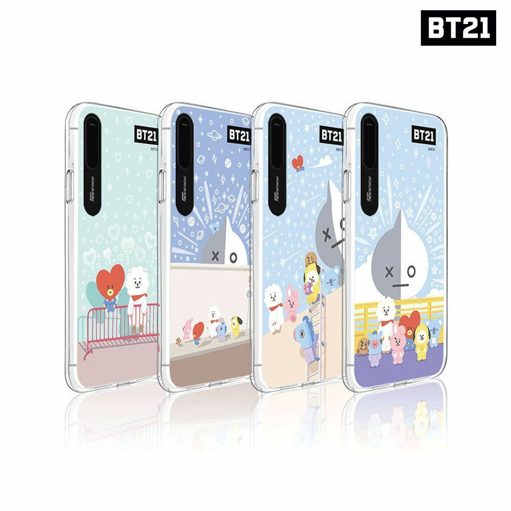 BTS BT21 Official Goods Pasyel City Light UP Case for iPhone X(S) _ XR _ XSMAX