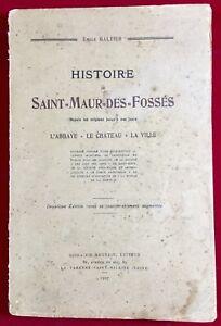 Saint-Maur-des-Fosses-1927-La-Varenne-Saint-Hilaire-L-abbaye-Chateau-Galtier
