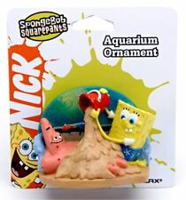 Spongebob With Patrick Aquarium Ornament - 3 in - SBR15 - Penn Plax