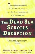 Dead Sea Scrolls Deception Baigent, Michael Paperback