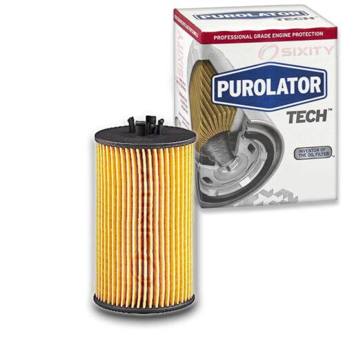 Long Life vv Purolator TECH Engine Oil Filter for 2017-2019 GMC Canyon