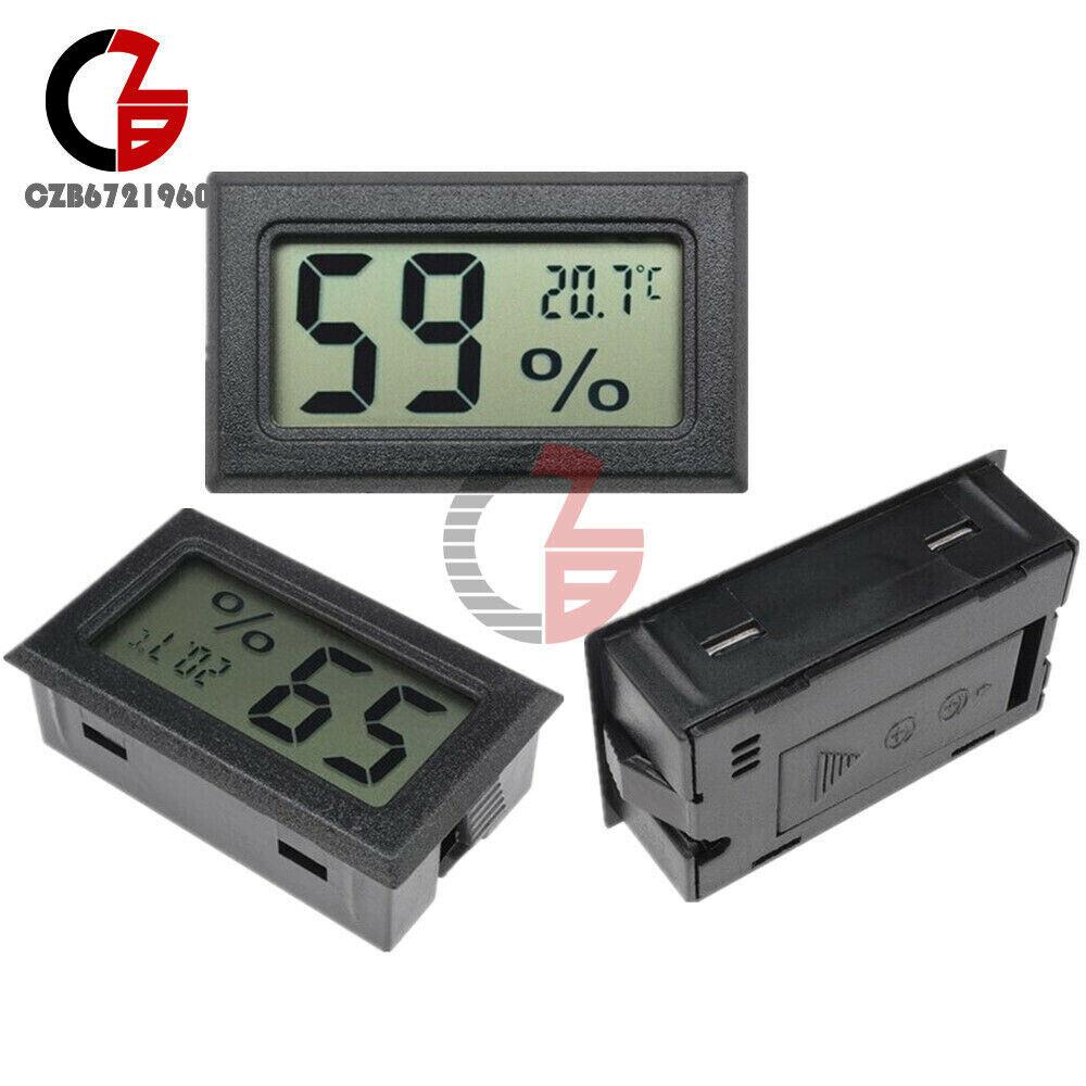 1/2/5/10PCS Digital LCD Mini Temperature Humidity Meter Thermometer Hygrometer
