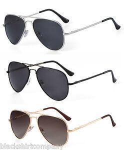 Sonnenbrille Pilotenbrille Fliegerbrille Flexbügel Polarisiert Farbe Gold D5COpa5L